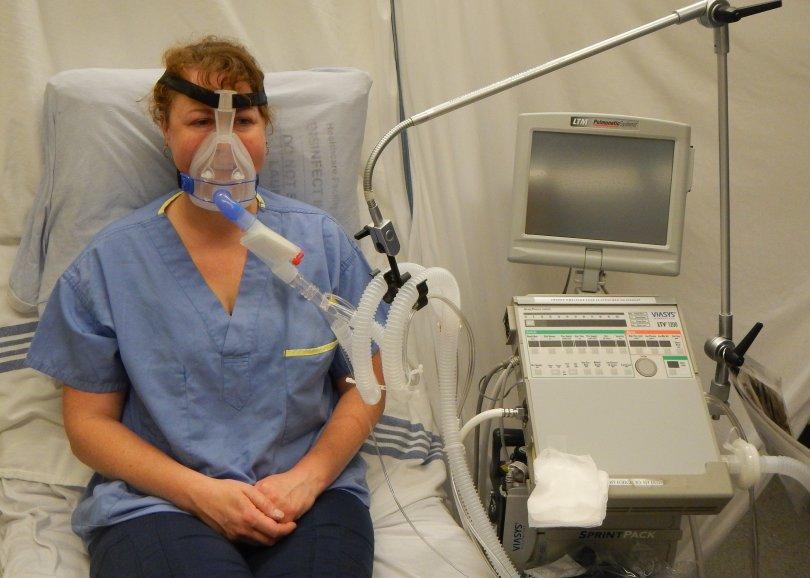 Ventilación no invasiva. CPAP