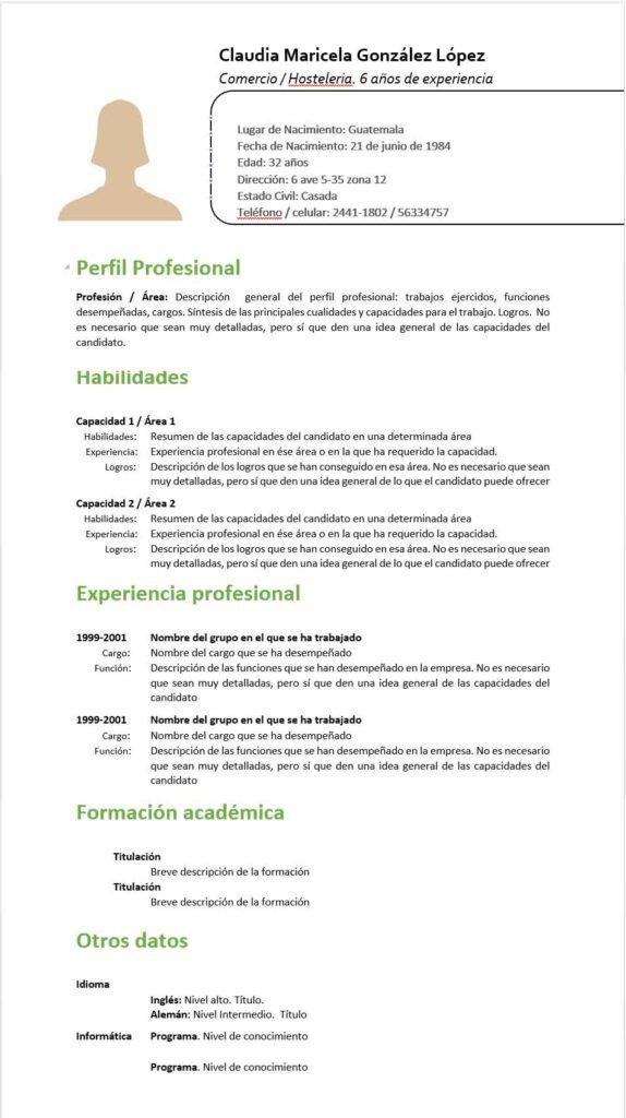 El Curriculum Perfecto Perfil En Redes Sociales 2019